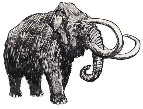 wooly mammoth-3
